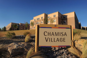 05/21/2011: Chamisa Village campus residence facility (photo by Darren Phillips)